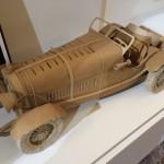 Modellino d'Automobile d'epoca in Cartone