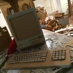 Personal Computer Vintage in Cartone